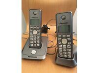 Panasonic home telephones twin set