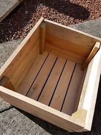 Homemade crate boxes