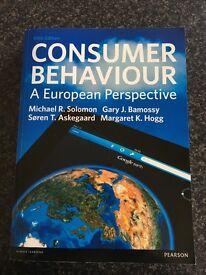 Consumer Behaviour: A European Perspective (5th edition) Michael R. Solomon et al.