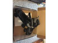 Roller boots size 8