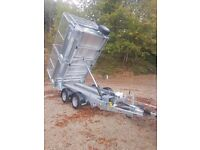 IFOR WILLIAMS TIPPER TRAILER BUILDER LANDSCAPE GARDENER TT 3017 TIPPING MESH KIT SIDES IVOR WILLIAMS
