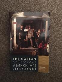 The Norton Anthology - American Literature Volume B