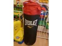 Brand new everlast boxing bag