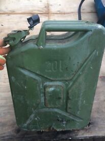 Metal 20 litre jerry can