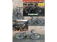 Shockwave XT 580 gents mountain bike 18 gears 18 inch frame aluminium 26 inch wheels v brakes