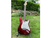 Fender American Standard Stratocaster. 2008. Candy Apple Red.