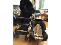 Graco mosaic travel system pushchair and car seat