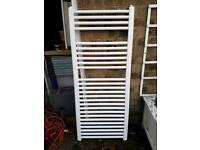 Towel radiator white
