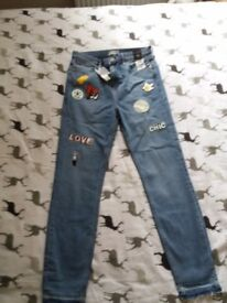river island jeans size12r