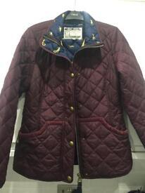 BARGAIN! Joules burgundy jacket size 12