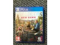 PS4 Game FarCry New Dawn