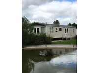 ABI Clarendon 2017 40ftx12ft 2bed, with balcony over looking lake