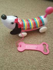Pink alpha pup