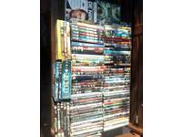 100+ DVD's, Thriller, Action, Comedy