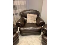 Leather Sofa Arm Chair