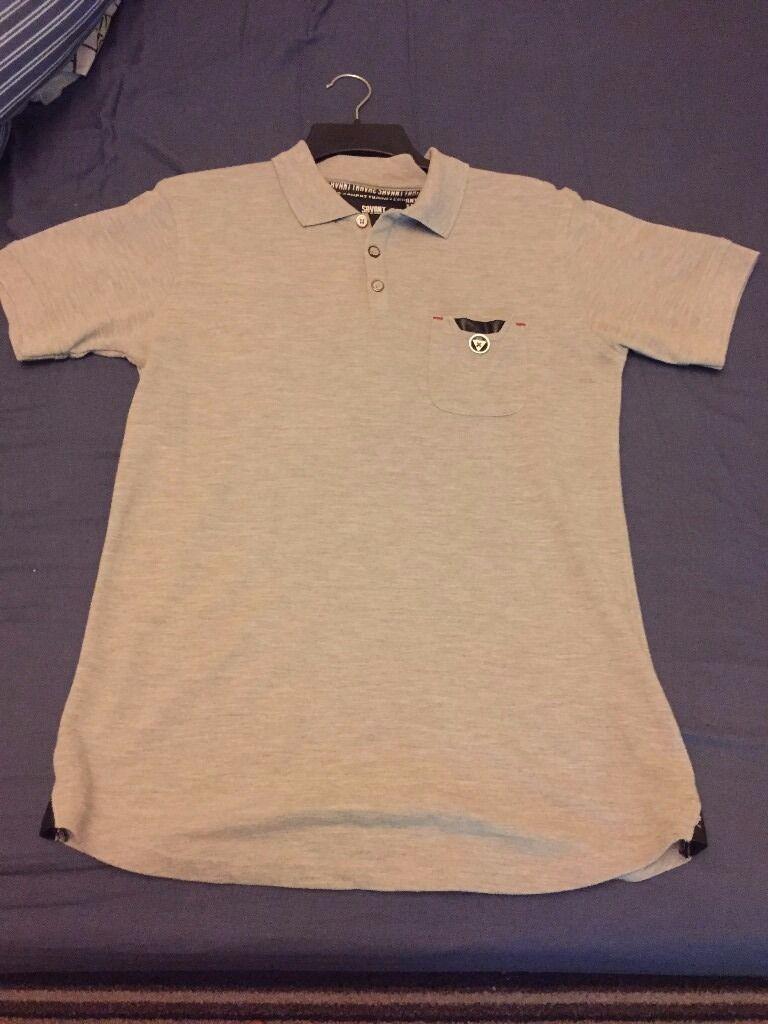 Men Savant polo shirt medium - light grey