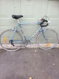 Retro racing bike