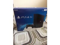 PlayStation 4 pro brand new sealed