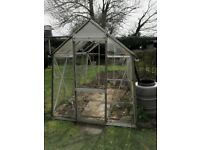 6X8 Greenhouse free to good home.