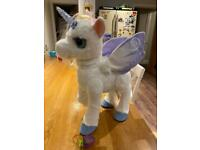 Fur Real friends Star Lilly Unicorn- New