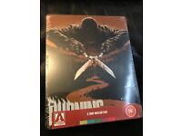 * THE BURNING * Limited Edition Blu Ray Steelbook * New & Sealed ! * Rare * BARGAIN !