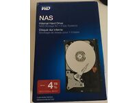 WD NAS 4TB Internal Hard Drive