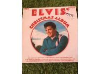 Elvis Presley and Bill Hayley vinyl LPs