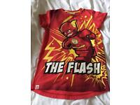 "Children's Lego ""the flash"" t shirt age 7 yrs"