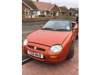 MG MGF 1800 cabriolet 1998 limited edition