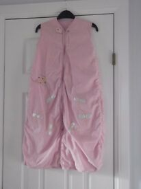 pink kite sleeping bag 6-8m 1 tog collect or deliver Stonehaven only, no postage