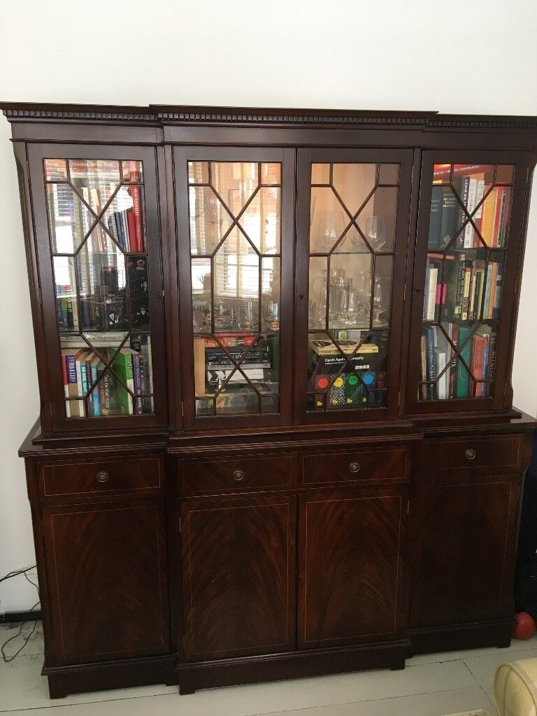 Large Dining Room Display Cabinet