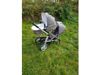Mothercare double pram very good condition