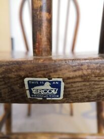 Four ercol chairs