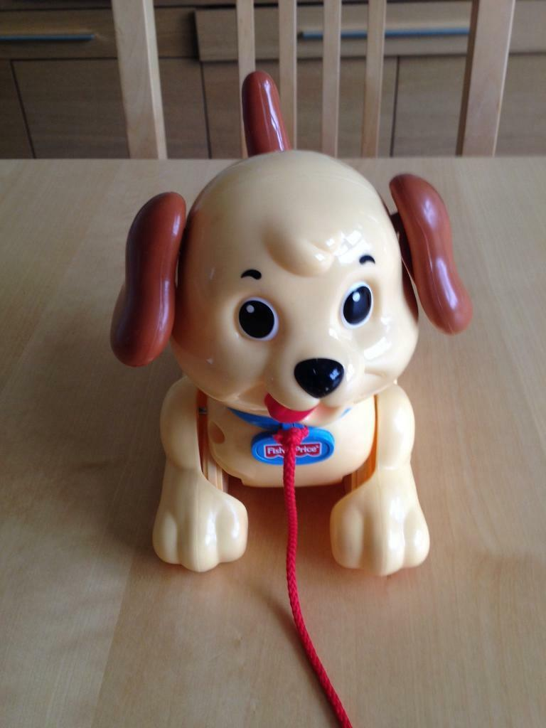 Fisher Price Lil' Snoopy pull along dog toy