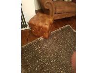 mocha shimmer rug