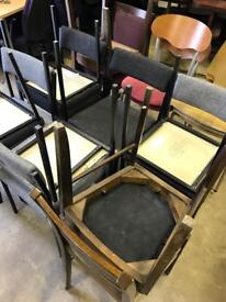 Job lot of chairs x18