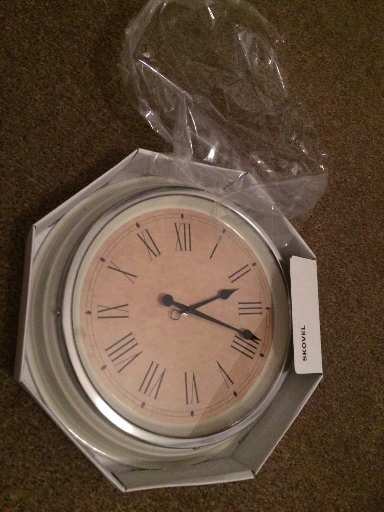 Brand new Ikea clock