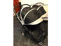 Twin /double pushchair
