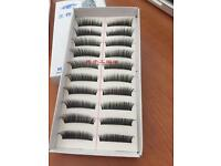 10 pairs wispy false eyelashes £5