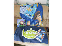 Toy story single duvet cover/pillow case, canvus picture and party bags