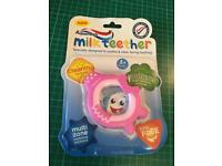 Brand new Aqua Fresh Milk Teether 3+Months (can post)