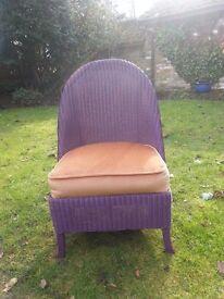 Lloyd Loom Bedroom Chair