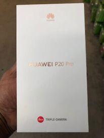Huawei P20 Pro ,Unlocked,Brand New,With Warranty