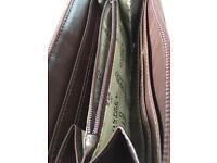 Osprey of London new brown ladies purse .