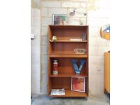 Mid Century Teak Bookcase Retro G plan