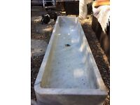 CARRERER MARBLE SINK FOR SALE CUT FROM 1 SOLID PIECE