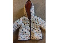 Girls coat- age 6-9 months