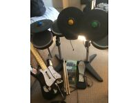 Rock Band Xbox 360 Instrument and Game Set