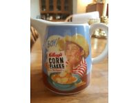Lovely little jug for milk at breakfast time - memories of childhood !!!