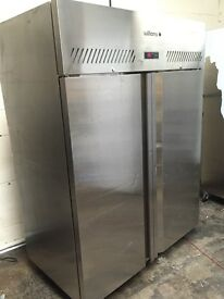 Commercial Williams double door upright fridge, catering fridge